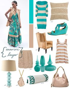 so much awesomeness. not sure where to pin. Turquoise and tan together in perfect harmony.