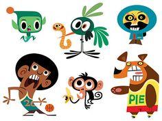 character illustration design - Buscar con Google
