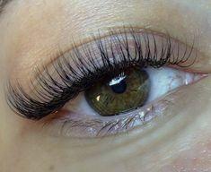 Natural Fake Eyelashes, Perfect Eyelashes, Best Lashes, Types Of Eyelash Extensions, Eyelash Extensions Classic, Makeup Eye Looks, Skin Makeup, Makeup Hacks Videos, Pretty Brown Eyes