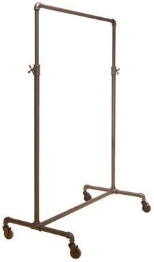 PDI Palay Display Adjustable Single Rail Pipe Clothing Rack 140$