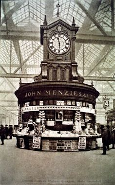 Glasgow Central Station , 1910 x Glasgow Central Station, Highlands, Scotland Travel, Edinburgh Scotland, British History, Train Station, Great Britain, Old Photos, Homeland