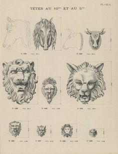 Ornaments En Zinc - 1900. Trade catalog of architectural ornaments in zinc, copper, iron and lead including weather-vanes, window surrounds, cornices, balustrades and other moldings and railings. Art and Architecture Library, University of Houston (Public Domain).
