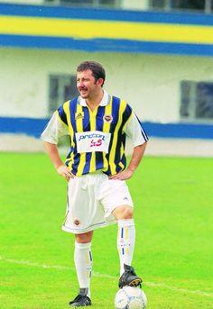 Sergen Yalcin in Fenerbahce shirt. 1998/99