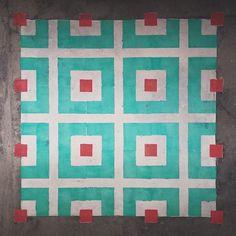 graffiti-spray-paint-tile-pattern-floor-installations-javier-de-riba-5