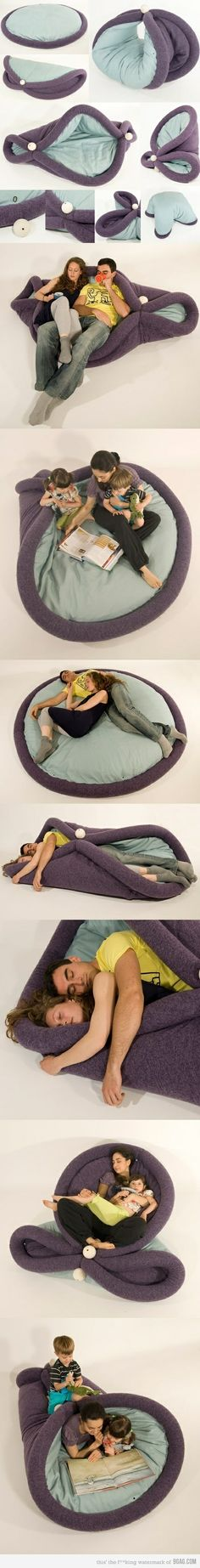 I most certainly need to acquire this thing... people that say it looks uncomfortable are crazy