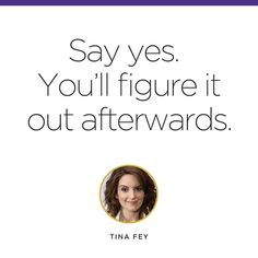 """""""One of our favorite pieces of #wednesdaywisdom from one of our favorite funny ladies. #qotd #quotes #levoinspired #tinafey #yes"""""""