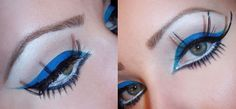 Minnie Mouse Blue Liner & Lashes