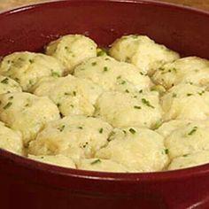 Chicken or turkey dumplings