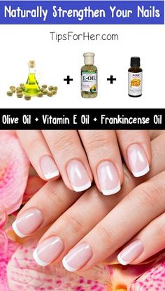 Naturally Strengthen Your Nails