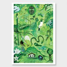 Art Print by Guy Harkness Words On Wood, New Zealand Landscape, Nz Art, Ship Art, Botanical Prints, Photographic Prints, Oil On Canvas, Screen Printing, Art Prints