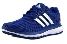 timeless design 702e1 54d65 Adidas Adidas Energy Cloud M Men Round Toe Synthetic Blue Running Shoe   Bluefly.Com