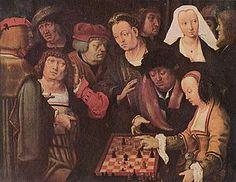 La partida de Ajedrez de Lucas van Leyden, 1509