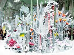 Le jardin fleuri de Chanel