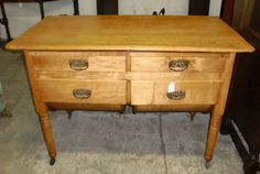 Delicieux Antique Possum Belly Drawer Bakeru0027s Table Cabinet