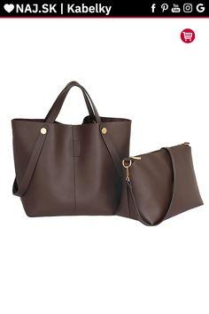Trendy kabelka Netty kávová AG00198 Shopper Bag, Tote Bag, David Jones, Longchamp, Zara, Fashion, Moda, Fashion Styles, Totes