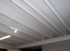 inexpensive basement remodeling | How to finish a basement ceiling for a quick one