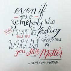 You still matter.