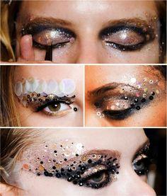 Dior catwalk eye makeup by Pat McGrath - Amazing!