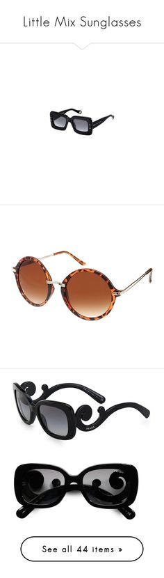 """""""Little Mix Sunglasses"""" by littlemixfashionguru ❤ liked on Polyvore featuring accessories, marc jacobs, eyewear, sunglasses, glasses/sunglasses, little mix, brown, brown round sunglasses, asos sunglasses and nose bridge glasses"""