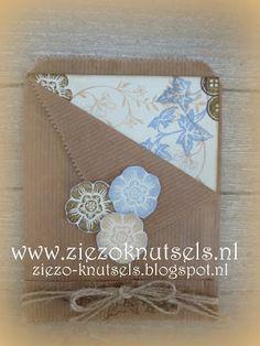 ZieZo Knutsels - Kaart in een zakje