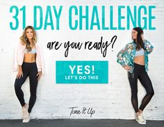 Tone It Up 31 Day Challenge