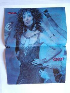 Cher Papakonstantinou Mini Poster Greek Magazines clippings 80s 90s | eBay
