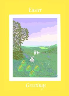 Easter Card, customize inside at Greeting Card Universe. Jans Card Store. Product ID 10002695