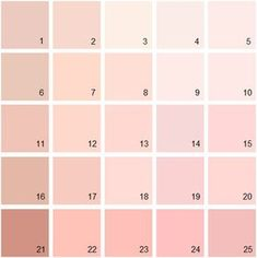 Benjamin Moore Pink House Paint Colors Palette 02 Kitchen Bedroom