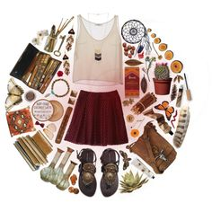 """""""warm afternoon/ reading in the park"""" by cosmonautical on Polyvore // #polyvore #freedomlovebeauty #tank #white #cream #sandals #2bandits #the2bandits #ralphlauren #tazotea #tazo #butterfly #summerfestival #Coachella #feather #howlite #tigereye #gemstone #bracelet #leather #brown #teal #Chevron #4worlds #beadedearrings #nativeamerican #southwestern #tan #sandals #boho  #hipster #indie #bohemian #ootd #style #stylish #summer #camping #lake #necklace #purse #dreamcatcher #tribal #ethnic…"""