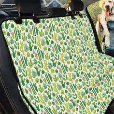 Pet Car Seat Covers, Back Seat Covers, Car Seats, Pattern Print, Print Patterns, Unique Animals, Cactus Plants, Artwork Prints, Cars