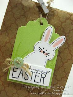 A Muse Studio Bunny Die Easter Treat Bag - bjl