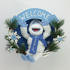 1000 images about the bumble on pinterest rudolph for Abominable snowman outdoor decoration