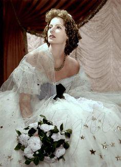 z- Greta Garbo- 'Camille', 1936 (Color)