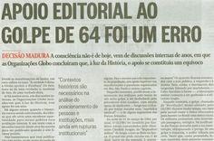 BLOG DO IRINEU MESSIAS: MÍDIA GOLPISTA DE 64  TENTA INFLUENCIAR  AS ELEIÇÕ...