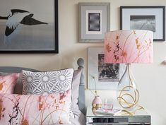 Add a touch of dreamy elegance to a space with the Afternoon Dreaming table lamp by British designer Anna Jacobs. Handmade in England & available at Pomegranate Anna Jacobs, Large Table Lamps, Lamp Shades, Light Decorations, Modern Contemporary, Home Goods, Cushions, House Styles, Furniture