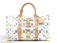 Louis Vuitton Multicolor Keepall 45 Bag
