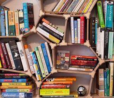 Collaborate on the Design of the Alan Rorie Voronoi Bookshelf trendhunter.com