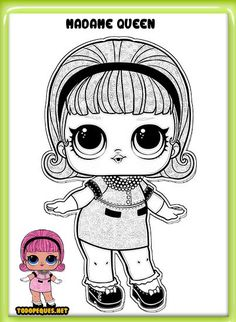 Dibujos LOL Suprise para colorear | Todo Peques Cartoon Coloring Pages, Colouring Pages, Coloring Books, Lol Dolls, Cute Dolls, Coloring For Kids, Adult Coloring, Penguin Craft, Cute Cats And Kittens
