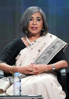 Urmi Basu founded, New Light, a nonprofit in India that works to save girls from becoming victim of sexual exploitation. Grey Hair Inspiration, 50 Hair, Hair Growth Tips, Ageless Beauty, Going Gray, Indian Celebrities, Aging Gracefully, 50 Fashion, Silver Hair