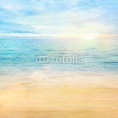 Fototapete Sea and sand background 64€