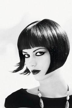 Black short hair... #touchofchic#lavalleevillage