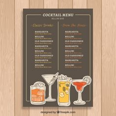 Cocktailkarte Selbst Gestalten.Die 67 Besten Bilder Von Cocktailkarte In 2019