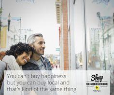 Happiness is just around the corner! #shopthehood