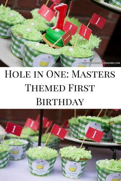 Hole in One: A Masters Themed First Birthday Party - Southern Decor on a Dime