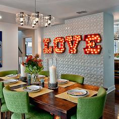 33 best Funky Dining images on Pinterest | Lunch room, Room and Home ...