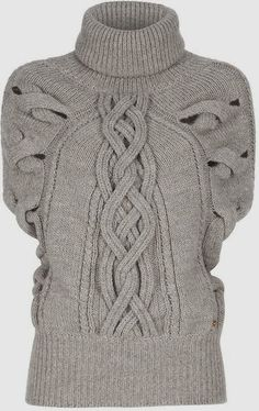 Stylish Cable Knit Jumper Trend