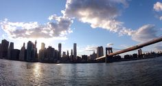 Brooklyn Bridge Into Lower Manhattan NYC by WeBeCurryPhotography, $30.00