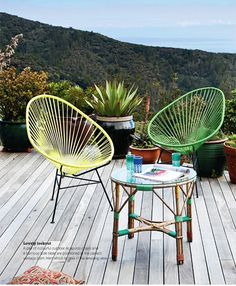 Mexican Acapulco Chair.  Photo Larnie Nicholson – Real Living Magazine (Feb/12)