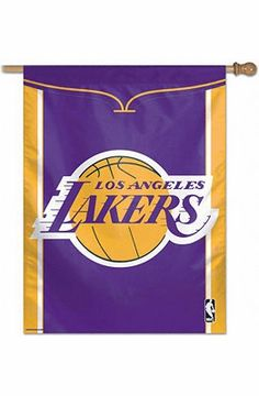 """Los Angeles Lakers 27"""" x 37"""" Banner"""