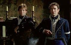 Archie and Bush Patrick O'brian, Doctor Love, Paul Mcgann, Marissa Meyer, O Brian, Napoleonic Wars, British Actors, Royal Navy, Jane Austen